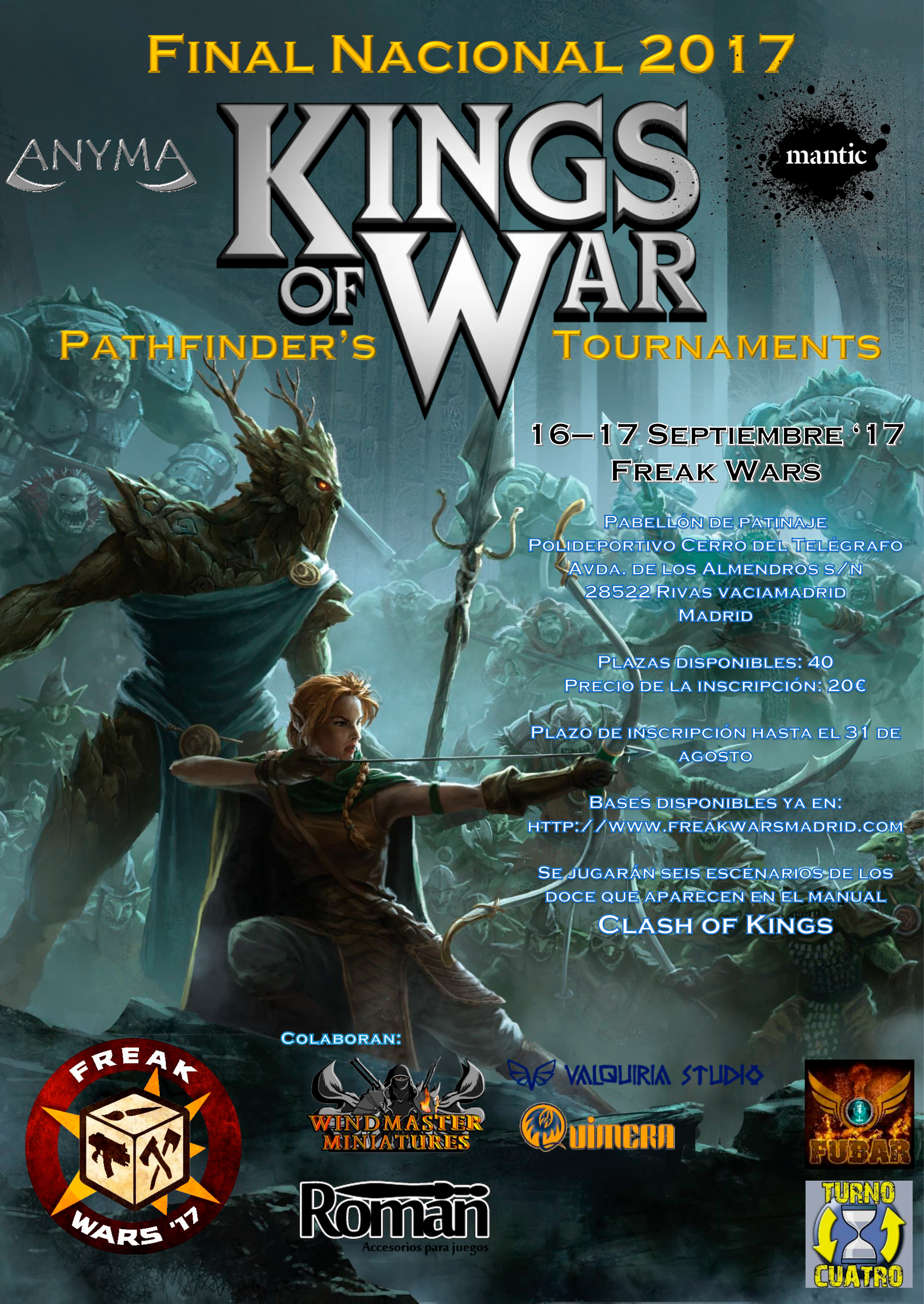 Torneo Final Nacional Kings of War 2017