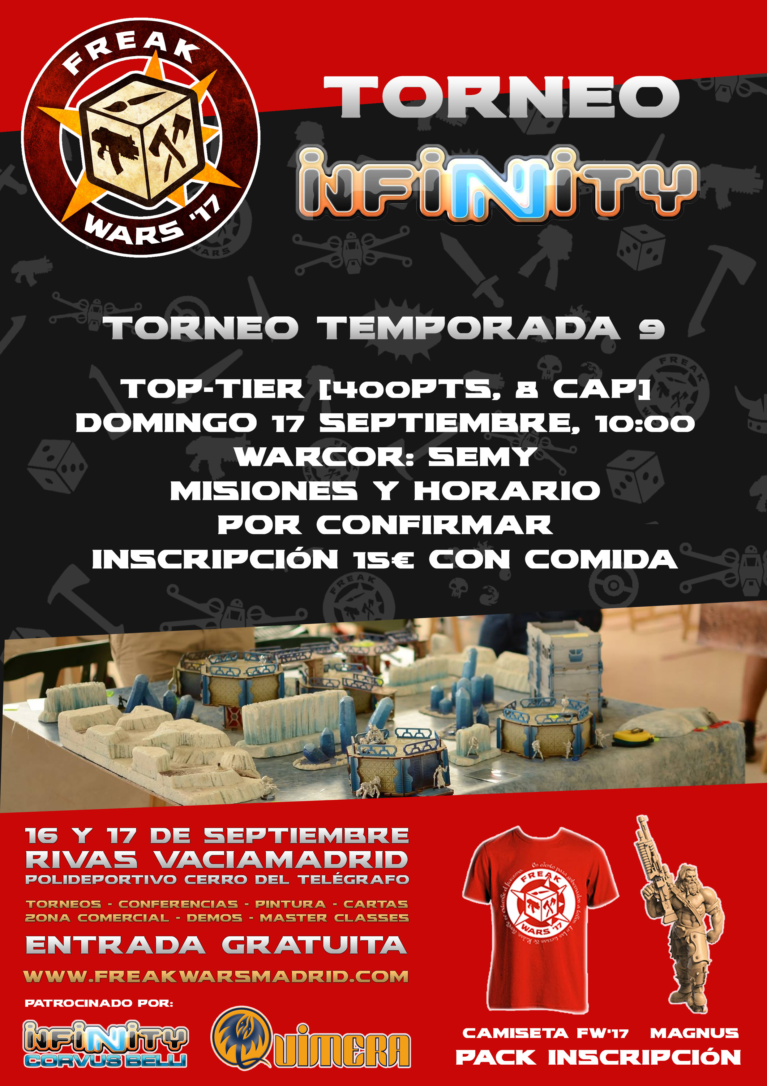 Cartel Torneo Infinity ITS